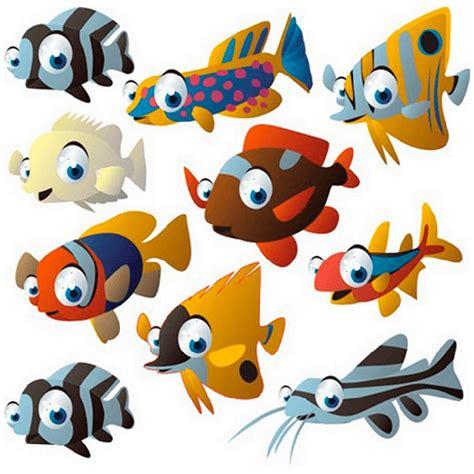 Wandtattoo Kinderzimmer Aquarium by Tropische Fische