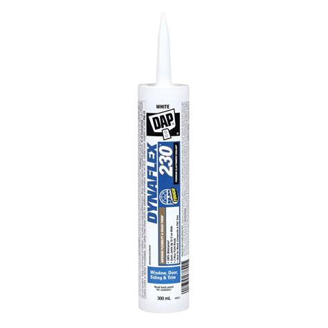 dap dynaflex  premium indooroutdoor white sealant