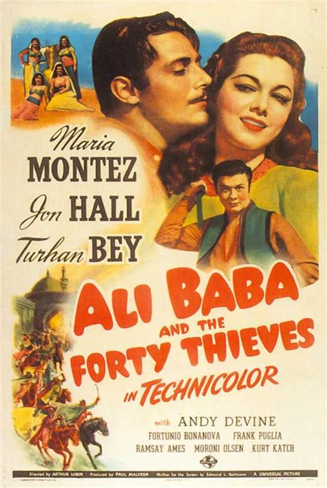 alibaba film ali baba and the forty thieves movie posters from movie