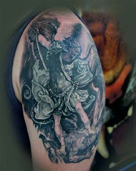 st michael sleeve tattoo designs 14 spiritual tattoos on shoulder