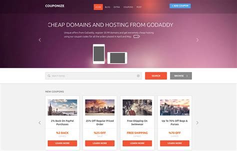 15 best free and premium wordpress coupon themes and