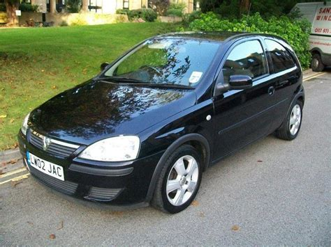 vauxhall corsa black used vauxhall corsa for sale under 163 4000 autopazar