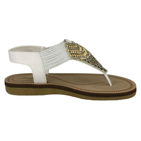 beaded wedge sandals style 989 low wedge beaded toepost sandals