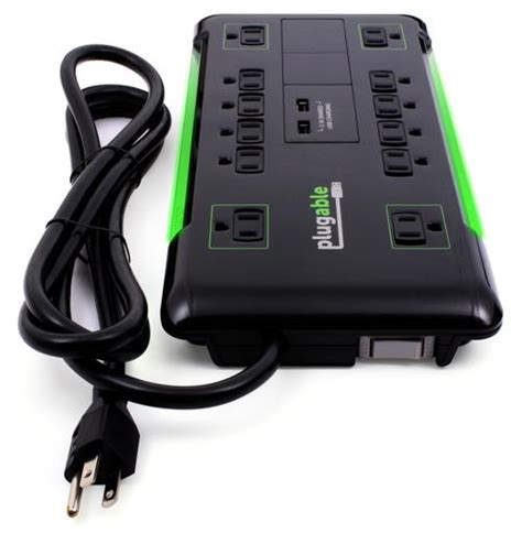 surge protector with usb charging ports 12 outlet surge protector with built in dual usb charging