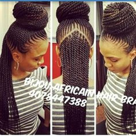 hairstyles that require less tension on edges braided mohawk hair is fed into the braids for less