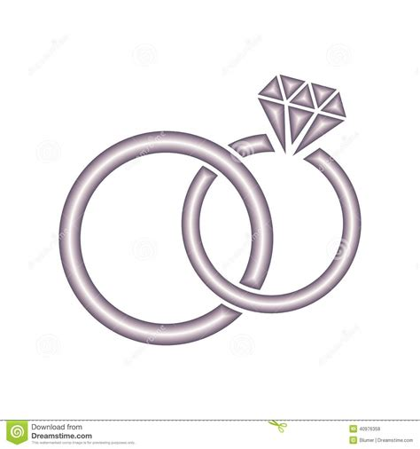 Wedding Font Ring by Ring Clipart Wedding Symbol Pencil And In Color Ring