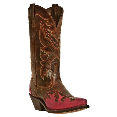 s laredo 11 quot fever western boots brown 590531