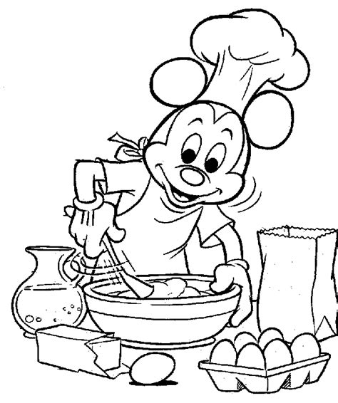 mickey mouse thanksgiving clipart coloring home