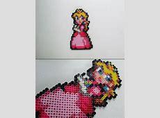 Super Mario Custom - Peach Bead Sprite Magnet Ninja Gaiden Nes Sprite