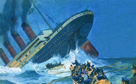 Titanic Sinking by On This Day In 1912 The Sinking Of Rms Titanic
