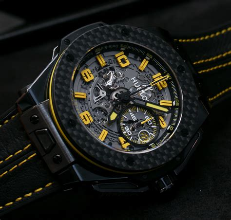 Hublot Ferrari by Hublot Big Bang Ferrari New Ceramic Titanium And Gold