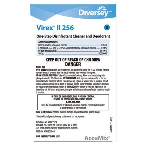 Ceiling Fan Cleaning by Affinity Disp Dba Lbl90297 Virex 174 Ii 256 Label Hp Products