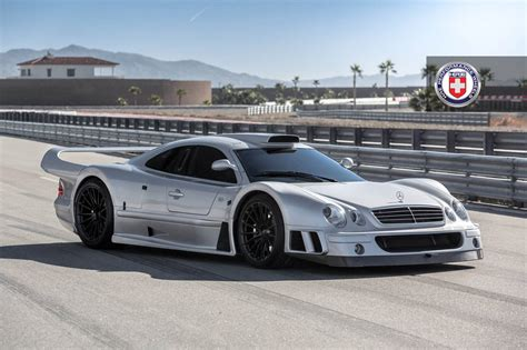 mercedes benz stunning mercedes benz clk gtr with satin black hre wheels