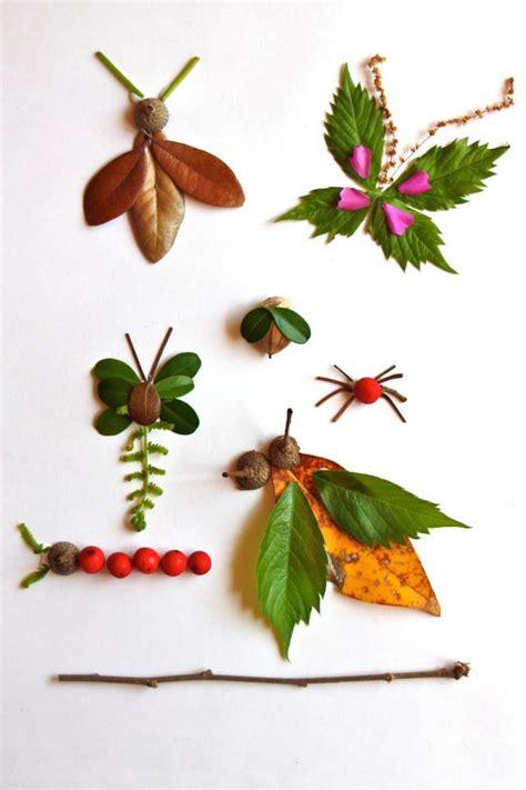 membuat kolase hewan kolase serangga berbahan dasar alam pembelajaran tk dan