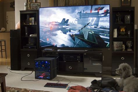 80 Inch Tv Gaming by Cool Desk Areas