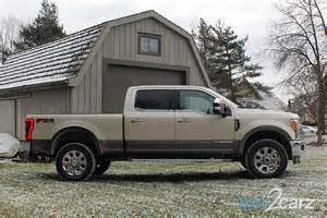 Ford F 250 King Ranch 2017 Ford F 250 Duty King Ranch Crew Cab 4x4 Review