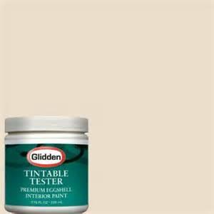 glidden premium 8 oz antique beige interior paint tester