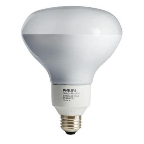 philips 75w equivalent soft white 2700k r40 dimmable cfl