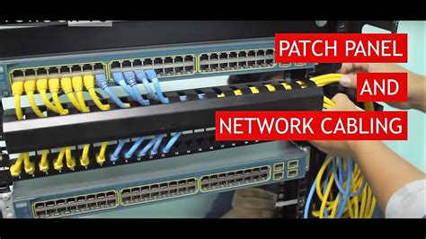 patch panel 4 wiring a patch panel to switch wiring diagrams schematics