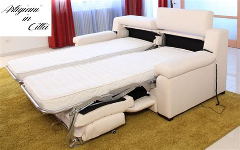 poltrone letto singolo prezzi divano letto gemellare doppio relax motorizzato scontato