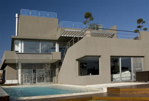 the modern house incredible modern waterfall house by andres remy
