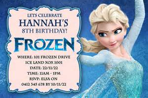 best selection of frozen personalized birthday invitations