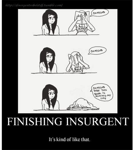insurgent book report reading insurgent divergent i just couldn t resist this