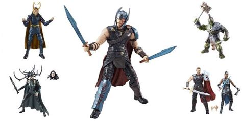 Marvel Legends Legends Series Thor Ragnarok Loki Hasbro hasbro reveals thor ragnarok legends figures