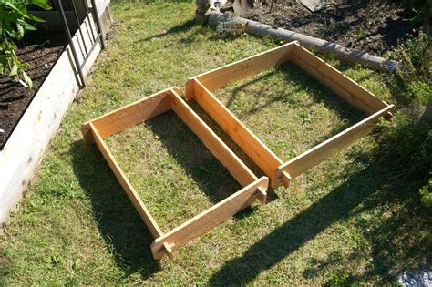 Raised Herb Planter Box by Garden Raised Bed Planter Flower Box Cedar Vegetable Kit