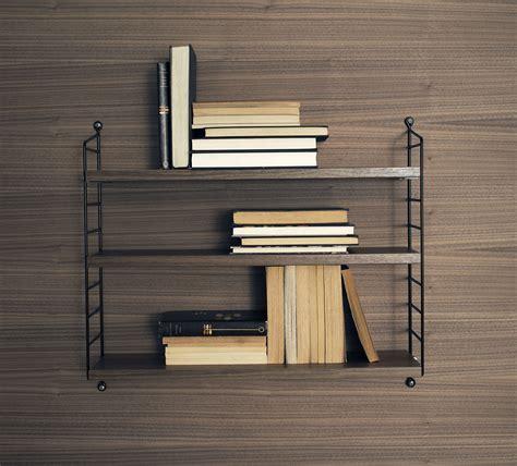 string pocket shelf black walnut shelves by string furniture string pocket shelf black walnut shelves by string furniture