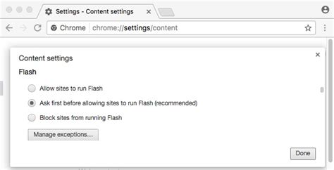 check flash version chrome enable flash on chrome for vidyoreplay vidyocloud support