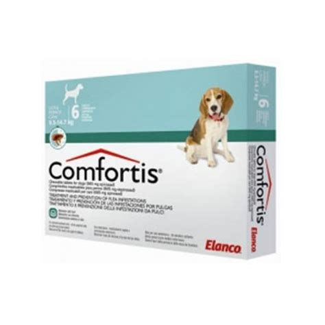 flea pill for dogs comfortis chewable flea tablets 665mg pet drugs
