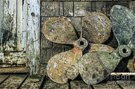 old boat propellers by john greim - Old Boat Propellers