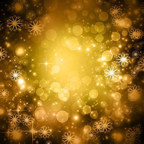 yellow glittery snowflake winter background free