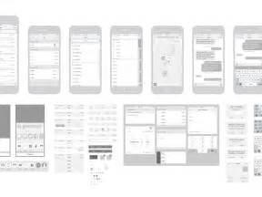 free iphone 6 vector wireframing toolkit ios 8 by