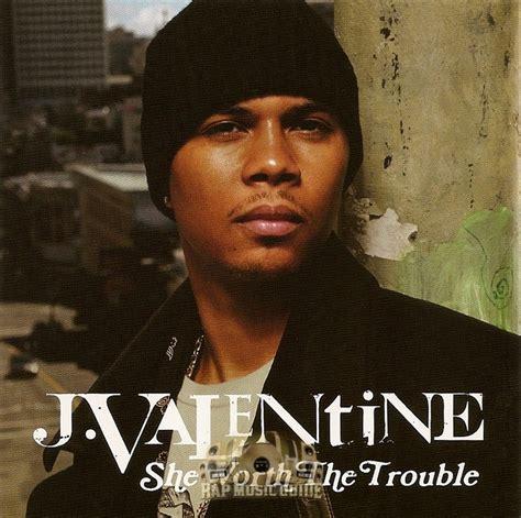 j valentin j she worth the trouble promo single cd