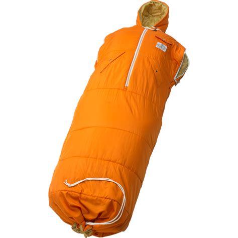 poler nap sack wearable sleeping bag one season synthetic