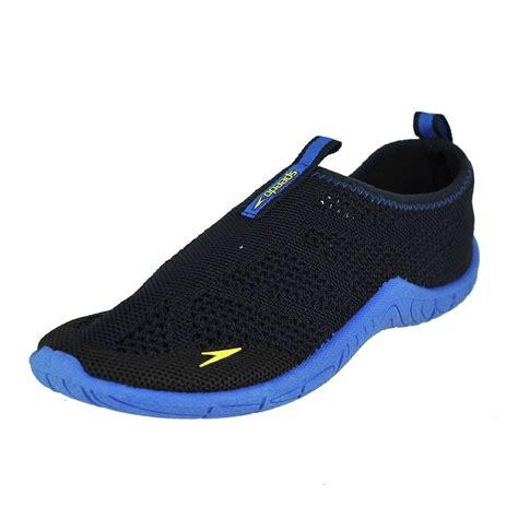 knitted speedo speedo wm surf knit navy blue womens water shoe size 10m