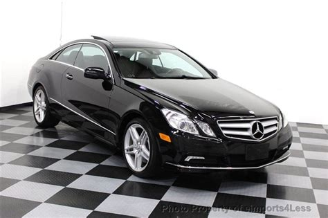 used mercedes e350 coupe 2010 used mercedes certified e350 coupe amg xenons