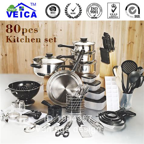 top fashion real cookware cooking pots and pans set 80