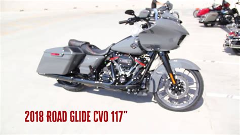 Harley Davidson Grey 2018 harley davidson road glide glide cvo 117