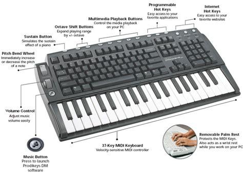 Keyboard Piano For Pc creative labs prodikeys dm musical keyboard pc keyboard combo musical instruments