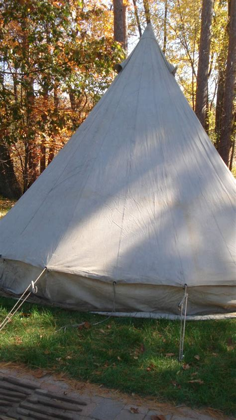 ww canadian bell tent set