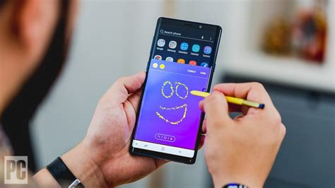 Note 9 Drawing by Samsung Galaxy Note 9 Review Rating Pcmag