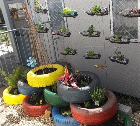 Brilliant Ideas For Repurposing Containers Recycling And Ideas For School Gardens
