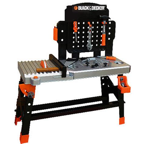 work bench for kids find the black and decker junior power tool workshop at an