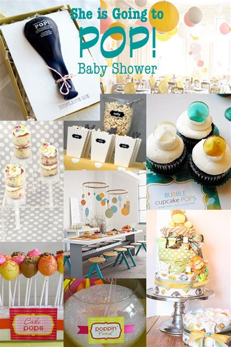 About To Pop Baby Shower Favors by She S Going To Pop Baby Shower In Pink And Orange Pop Baby Showers Babies And Shower Inspiration