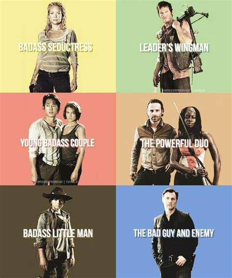 Walking Dead Season 3 Memes - the walking dead andrea daryl glenn maggie rick
