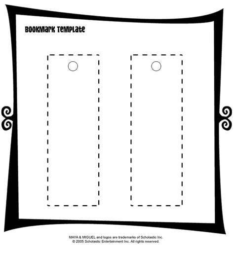 make your own bookmark template the 25 best bookmark template ideas on