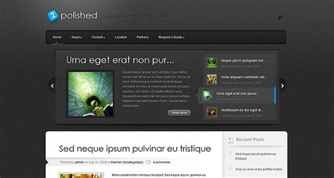 themes wordpress elegant free elegant polished wordpress theme free download jazzsurf com